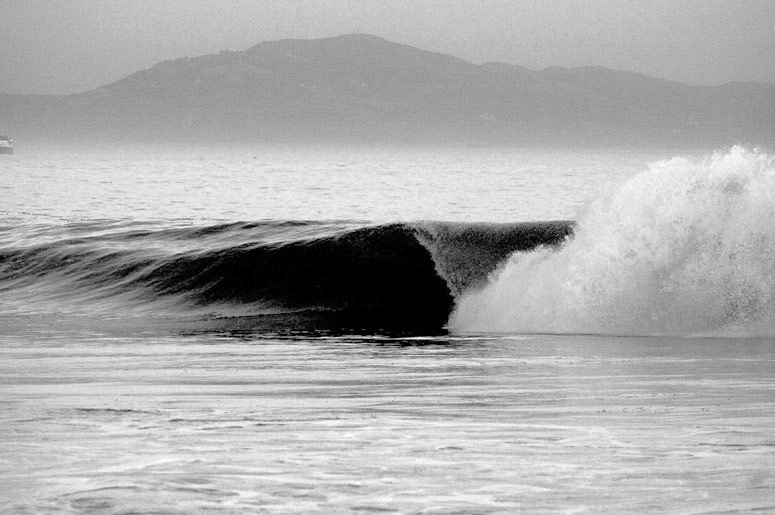 sandspit, santa barbara surfing